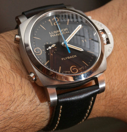 Panerai Luminor 1950 3 Days Chrono Flyback Acciaio PAM524
