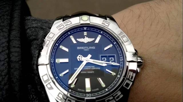 Focus On Breitling Galactic 41 Replica Watch