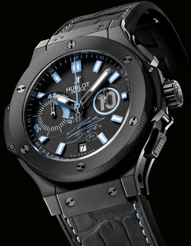 Hublot Big Bang black dial watch
