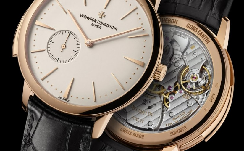 A Wrist Watch of Note the Interior Story from the Vacheron Constantin Patrimony Contemporize Quality 1731