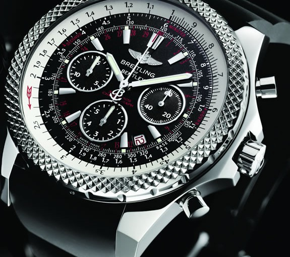 Motorcycle racer James Toseland Love to wear Breitling replica Bentley