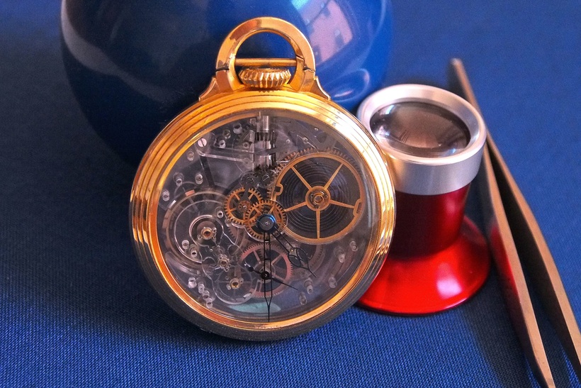 A Totally Unique Vintage Replica Pocket Watch From Hamilton