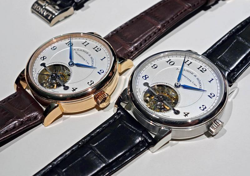 A. Lange & Söhne 1815 Tourbillon With Blue Steel Hand Review