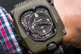 The New URWERK EMC Time Hunter Replica Watch