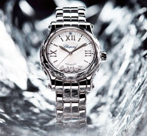 Elegant And Morden Replica Chopard Happy Sport 30mm Automatic Is Available With Polished-Set Case