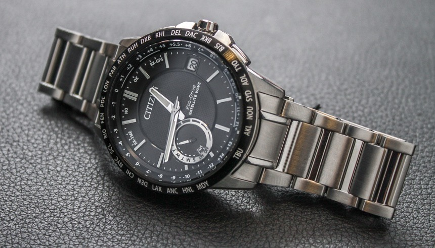 Citizen Launches New Eco-Drive Satellite Wave World Time GPS Replica Watch
