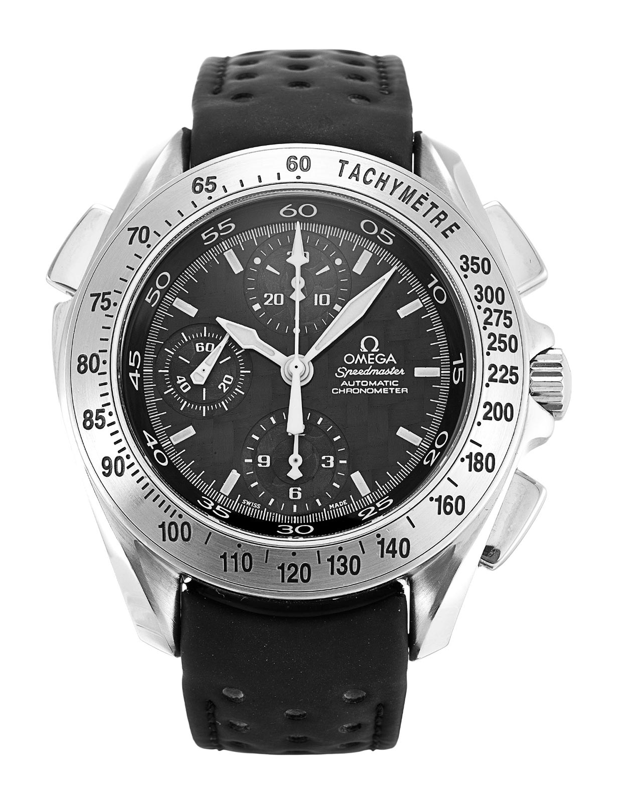 Come To Look At The Rare Omega Speedmaster Rattrapante Chronometer Replica Watch