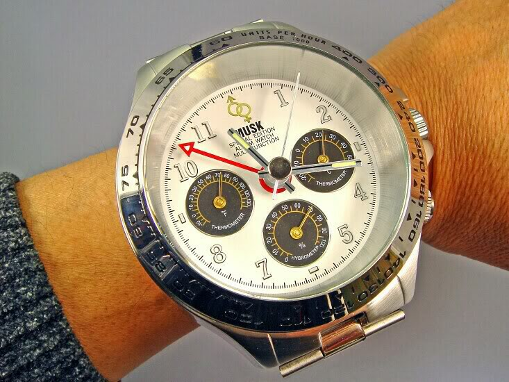 Review Diesel released largest replica wristwatch in the world