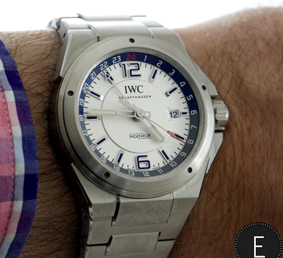 Hands-On With IWC Ingenieur Dual Time Mens Replica
