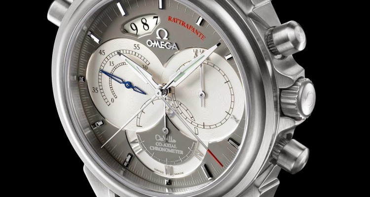 Take A Look At The Omega De Ville Co-Axial Rattrapante Men's Replica