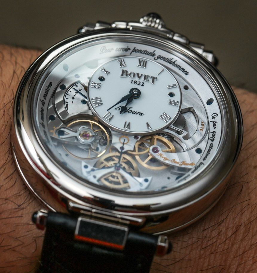 Bovet Amadeo Virtuoso VII Retrograde Perpetual Calendar Watch Review Wrist Time Reviews