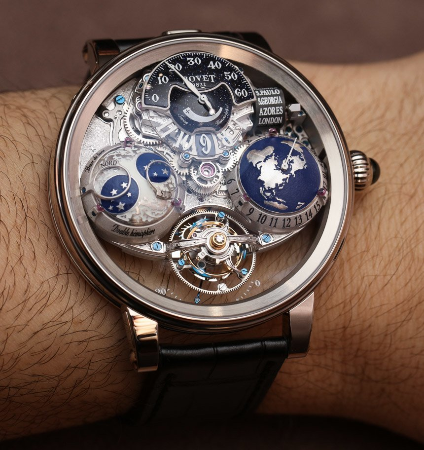 Bovet Catalogue Replica  Recital 18 Shooting Star Watch Hands-On Hands-On
