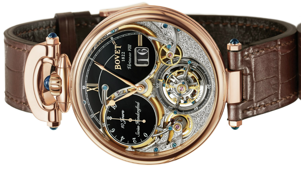 Bovet Inc Replica  Virtuoso VIII 10-Day Flying Tourbillon Big Date Watch Watch Releases