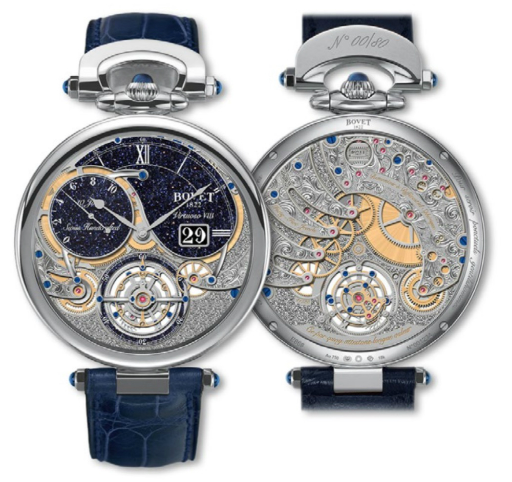 Bovet Virtuoso VIII 10-Day Flying Tourbillon Big Date Watch Watch Releases