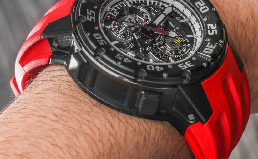 Richard Mille RM 025 Tourbillon Chronograph Diver's Replica Watch Hands-On