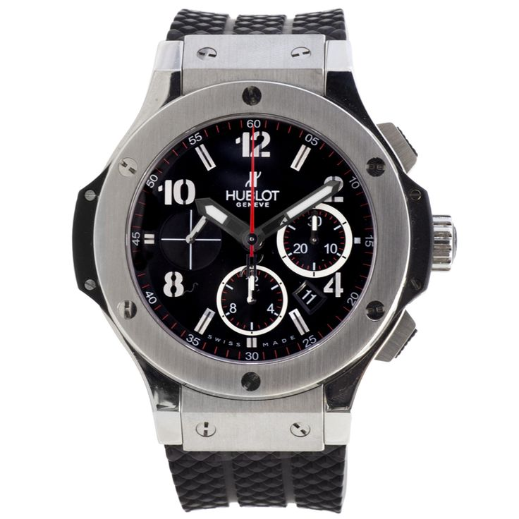Hublot Big Bang stainless steel watch