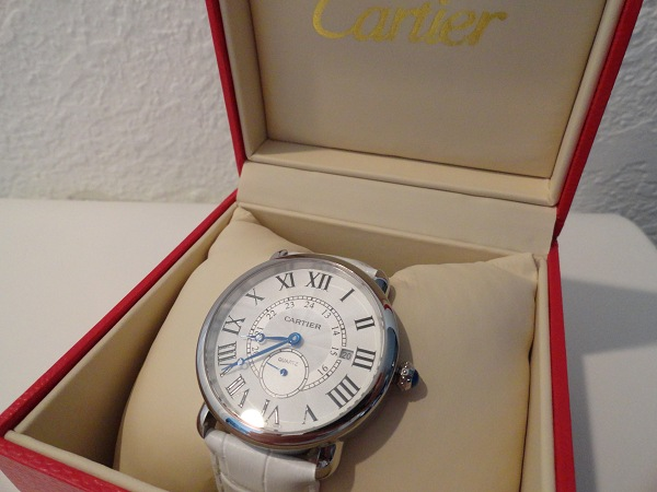 Cartier Ronde Louis Fake Watch Photo Review