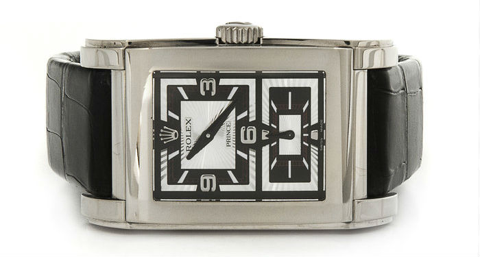 PRE-OWNED RECTANGULAR REPLICA WATCHES