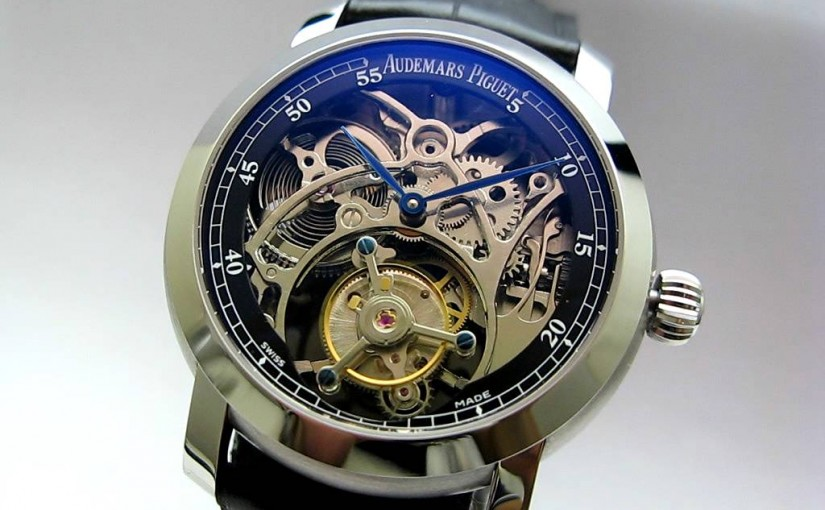 Audemars Piguet Jules Audemars Tourbillon Openworked Replica Watch Releases