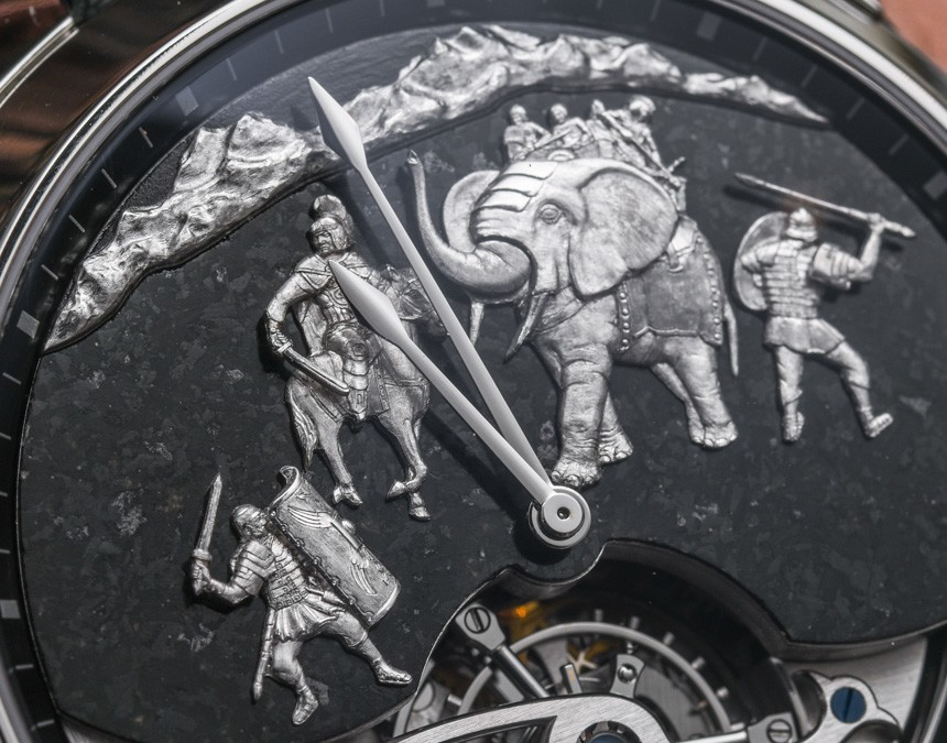 Ulysse Nardin Hannibal Minute Repeater Tourbillon Replica Watch Hands-on review