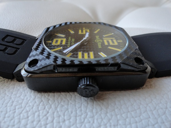 Attractive Bell & Ross 01-92 Carbon Fiber Replica Watch Wrists On