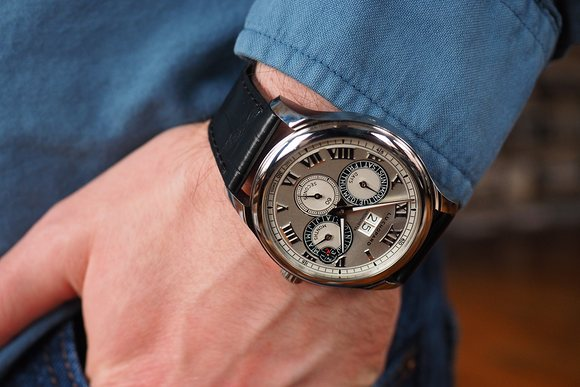 Hands-On With The Masculine And Historical Chopard L.U.C. Perpetual Twin Replica Watch