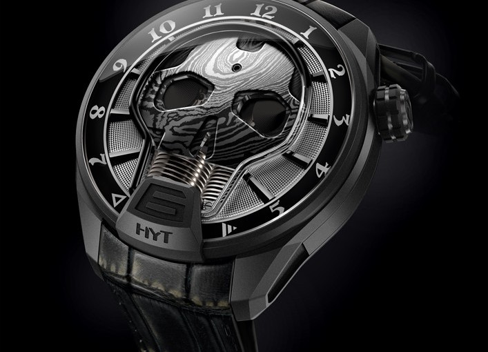 Presenting The New Dark Side With The Hyt Skull Bad Boy 51mm Replica Watch