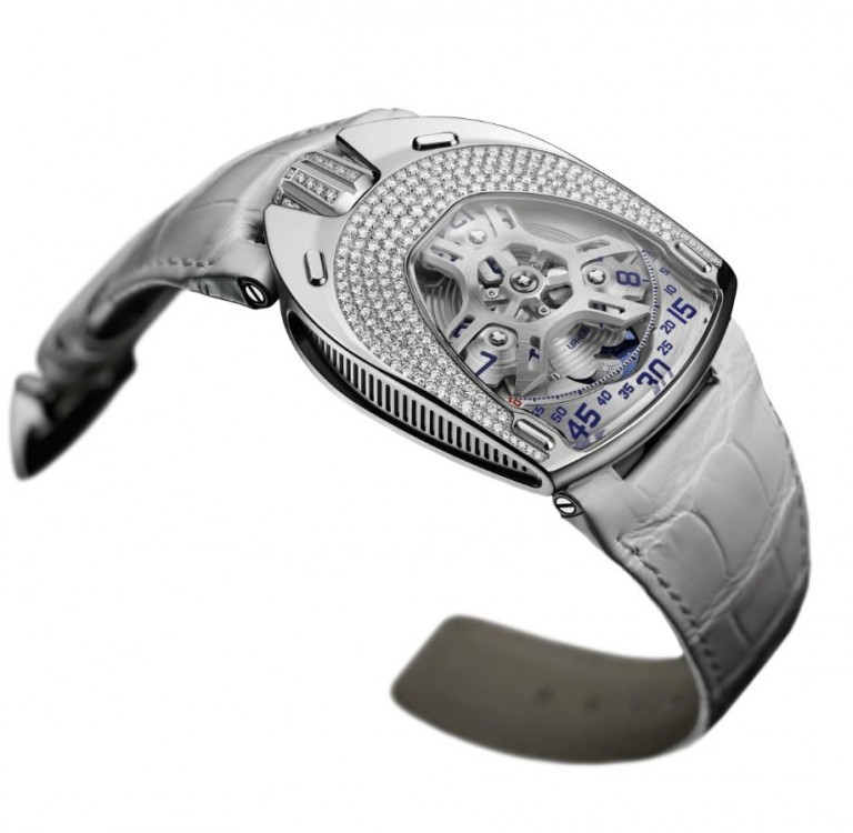 A Charming Watch On Your Wrist:Urwerk UR-106 Lotus Replica