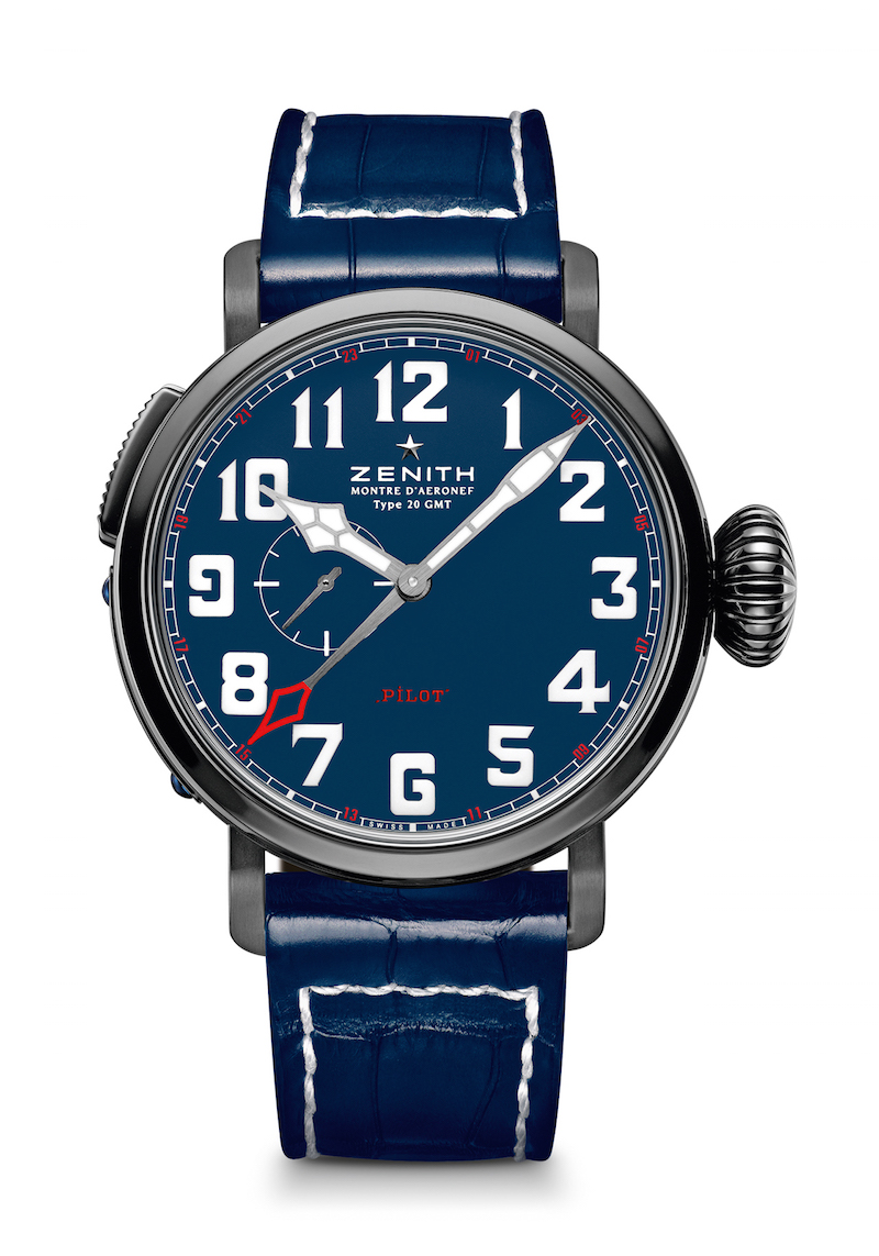 Limited Edition Watch Series:Zenith Type 20 Pilot GMT North American Replica