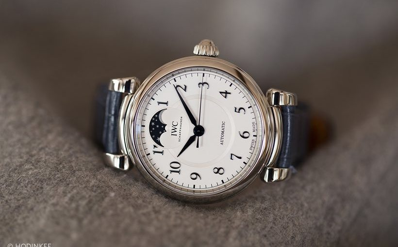 Presenting The IWC Da Vinci Automatic Moon Phase 36 Replica