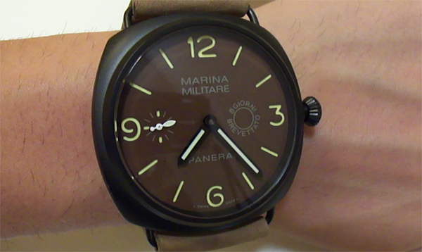 A Luxurious Version Of Panerai Radiomir Composite Marina Militare Replica