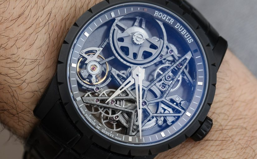 Hands-On With Roger Dubuis Excalibur 42 Skeleton Men's  Replica Watch