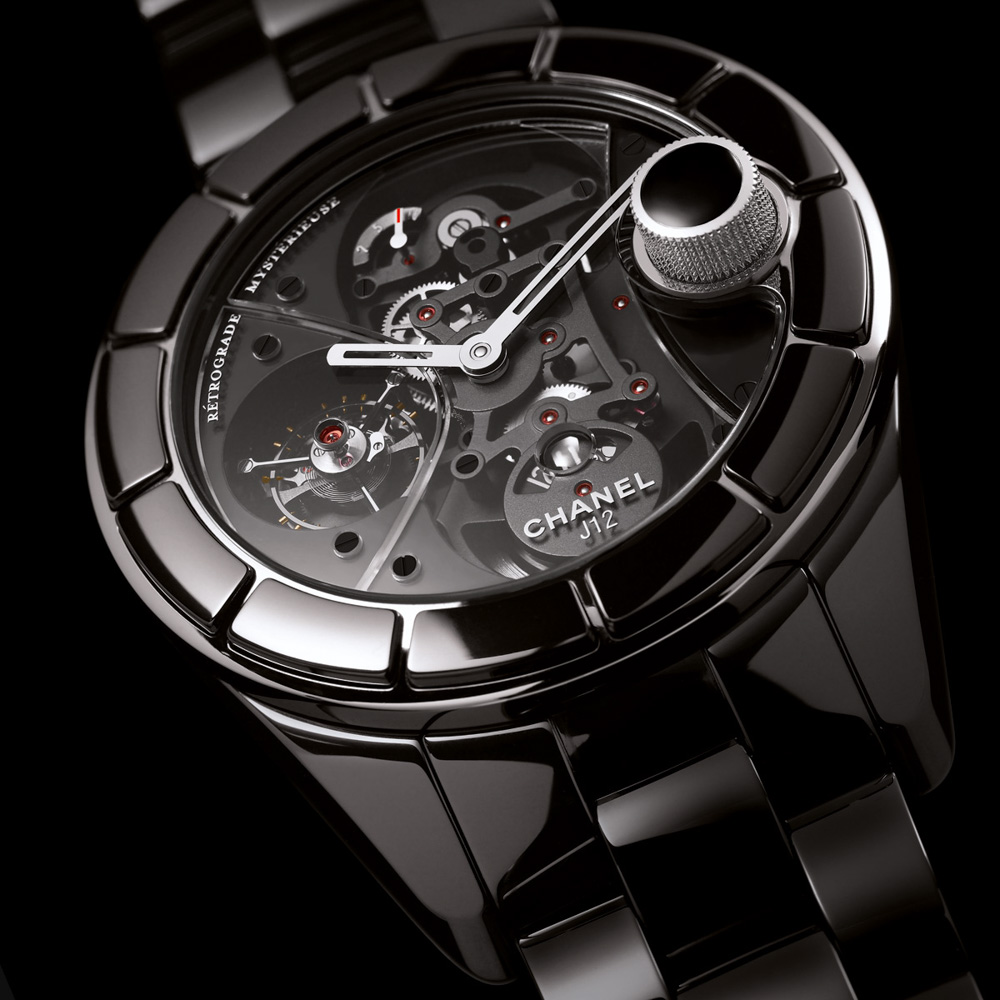 Recalling A Modern Exotic: Chanel J12 Rétrograde Mystérieuse Tourbillon Watch Featured Articles