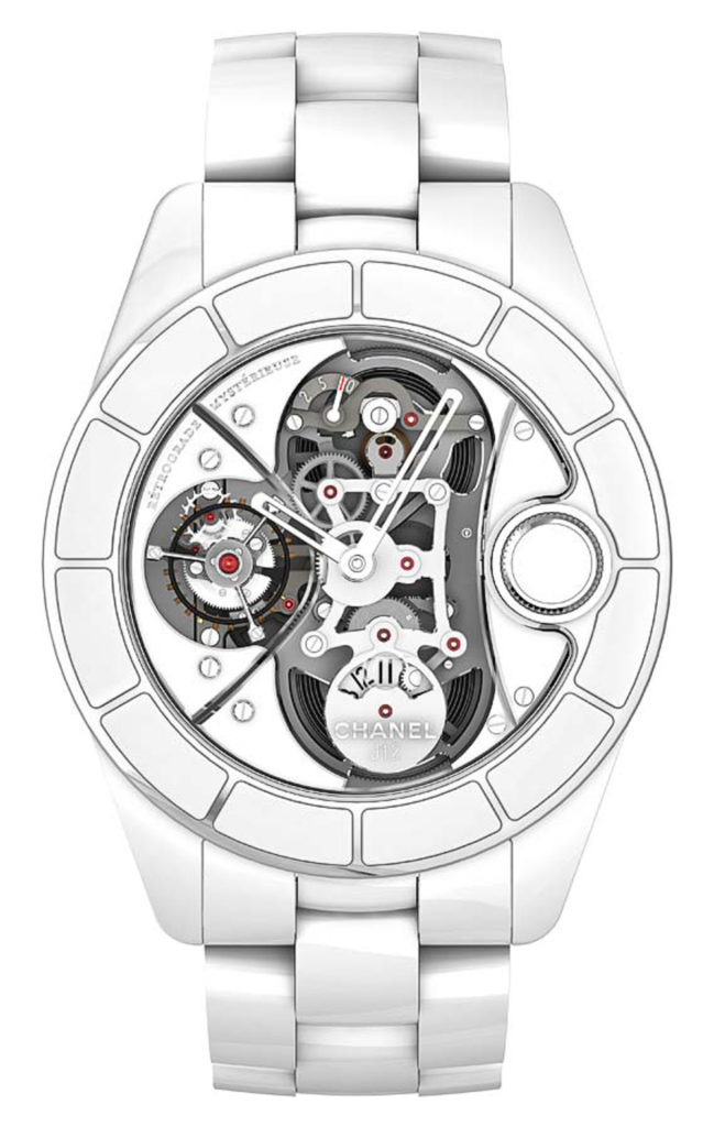 Recalling A Modern Exotic: Chanel Watches Bloomingdales Replica J12 Rétrograde Mystérieuse Tourbillon Watch Featured Articles